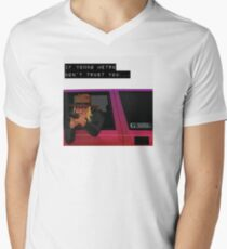 IF YOUNG METRO DON'T TRUST YOU - FUTURE Men's V-Neck T-Shirt
