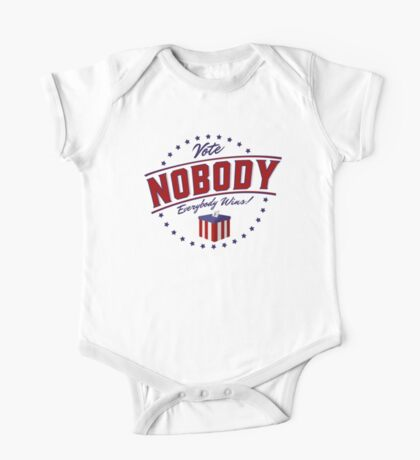 Vote Nobody Kids Clothes