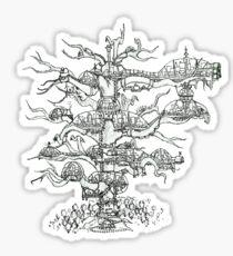 Deadwood Fortress Sticker