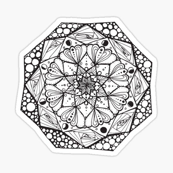 Mandala #4 Sticker