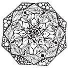 Mandala #4 by remixnconfuse
