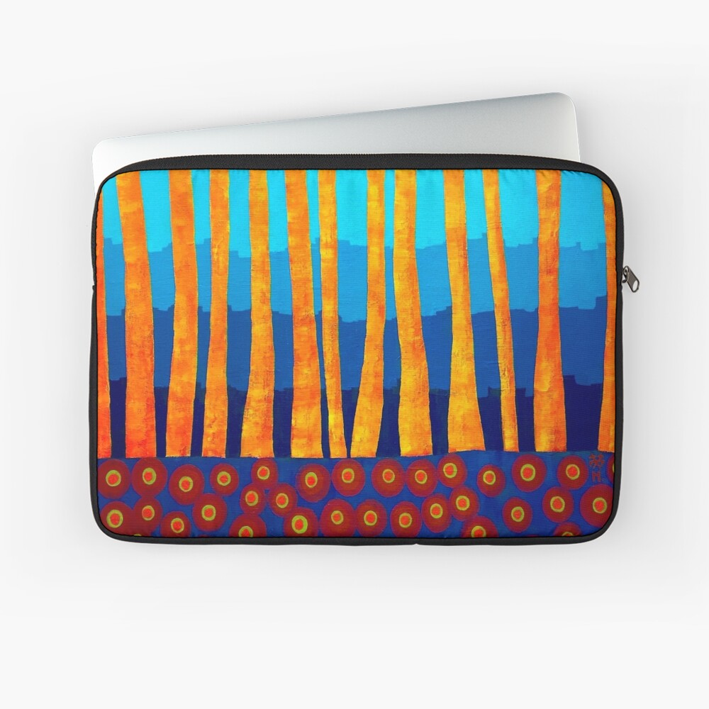 Lake side Laptop Sleeve Front