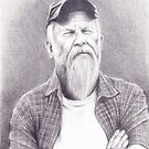 Drawing of Seasick Steve by Andy  Housham