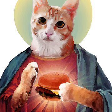 Jesus The Cat #2 by medulla9324