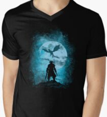 skyrim17 Men's V-Neck T-Shirt