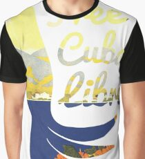 Free Cuba Libre T-Shirt Graphic T-Shirt
