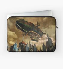 Steampunk Airship 3 Laptop Sleeve