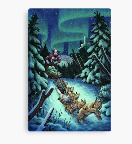 Gilly & the Snowcats Canvas Print