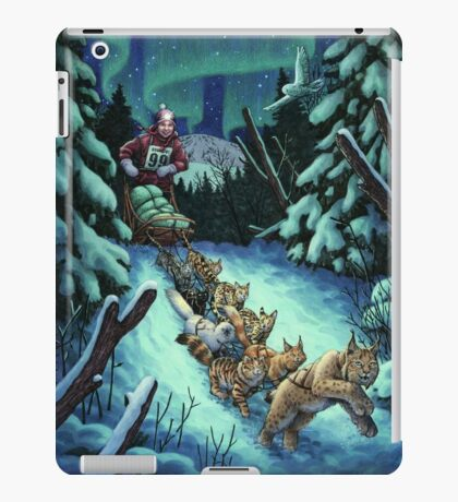 Gilly & the Snowcats iPad Case/Skin