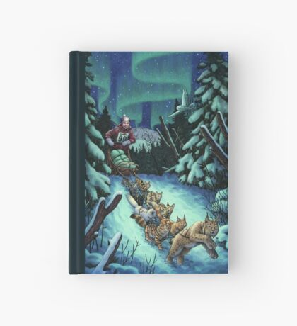 Gilly & the Snowcats Hardcover Journal