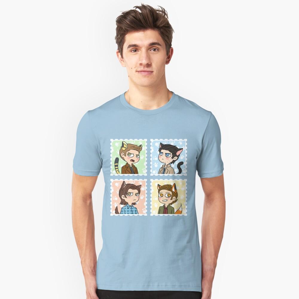 Nekomimi party~ Unisex T-Shirt Front