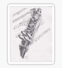 Clarinet Sticker