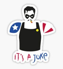 A Joke Sticker