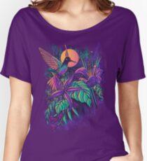 Purple Garden Women's Relaxed Fit T-Shirt