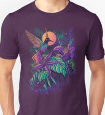 Purple Garden Unisex T-Shirt