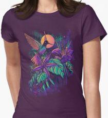 Purple Garden Women's Fitted T-Shirt