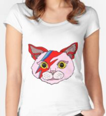 David Cat Women's Fitted Scoop T-Shirt