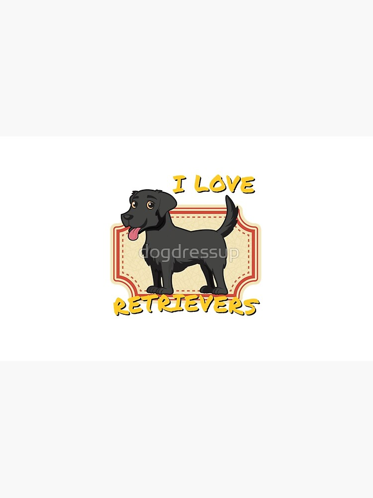 Me encantan los perros perdigueros - Black Labrador Retriever de dogdressup
