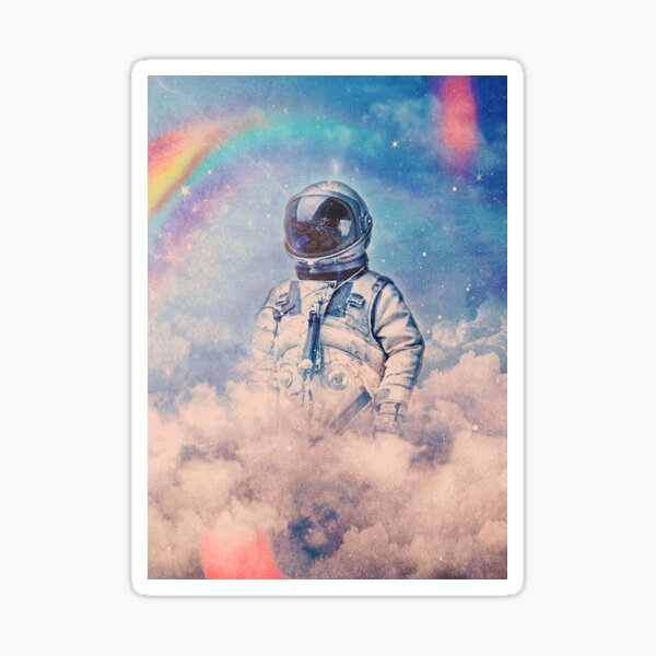 Between the Clouds Sticker