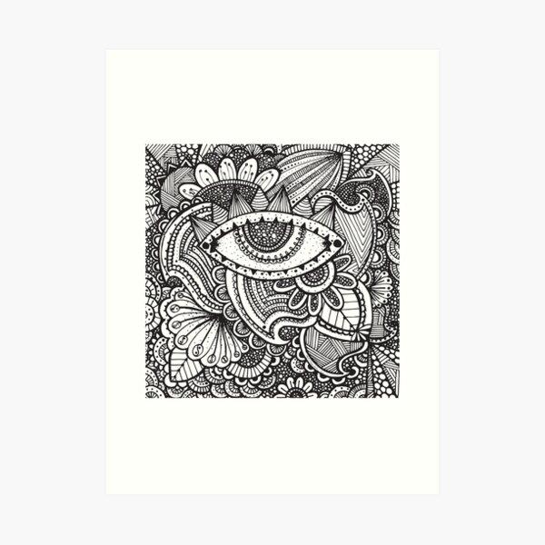 Zen #1 Art Print