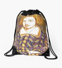 CHRISTOPHER MARLOWE - ELIZABETHAN, WRITER, POET, SPY Drawstring Bag