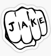 Joliet Jake Hand Sticker