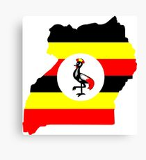 Uganda Canvas Print