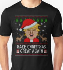 Trump Make Christmas Great Again Ugly Sweater Unisex T-Shirt