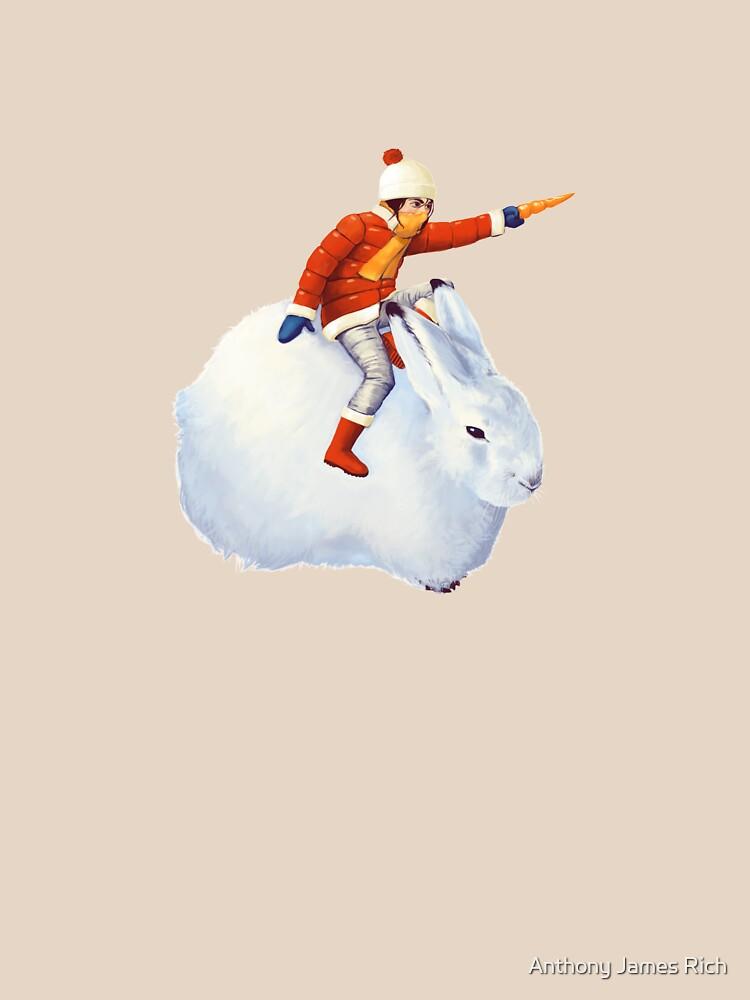 Snow Bunny | Digital Illustration by AJRart