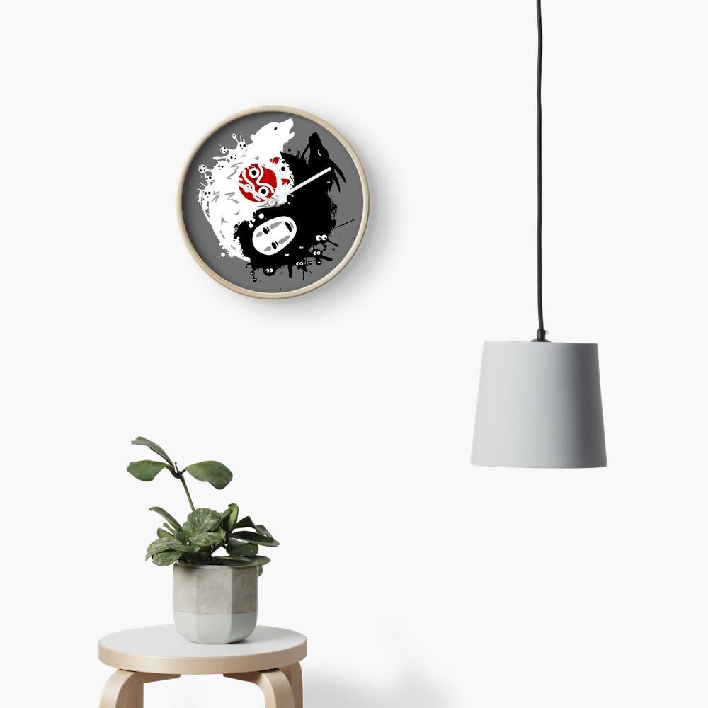 Spirits Yin-Yang Clock
