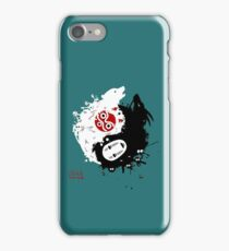 Spirits Yin-Yang iPhone Case/Skin