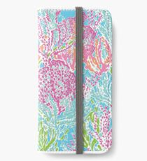 Lilly Pulitzer iPhone Flip-Case/Hülle/Skin