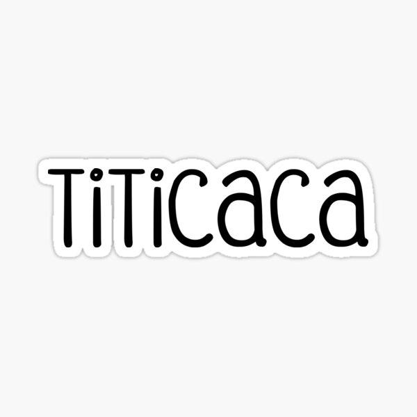 Titicaca Sticker
