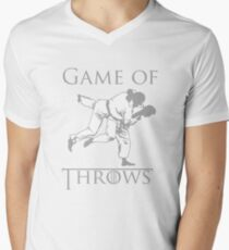 Game of Throws Mens V-Neck T-Shirt