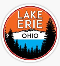 LAKE ERIE OHIO BOATING FISHING PORT CLINTON PUT IN BAY SANDUSKY MARBLEHEAD Sticker