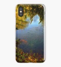 Sheltered Pond iPhone Case/Skin