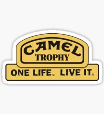 Land Rover - Camel Trophy Challenge Sticker