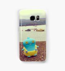 Babo uglydoll on holiday in Wales, UK. Samsung Galaxy Case/Skin