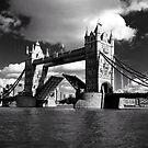Tower Bridge Open  by John Gaffen