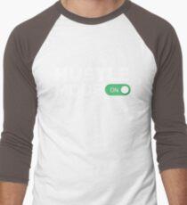 HUSTLE MODE ON - Startup/Entrepreneur Motivational Business Quotes T-shirts Men's Baseball ¾ T-Shirt