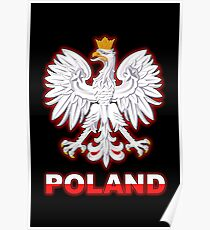 Poland - Polish Coat of Arms - White Eagle Poster