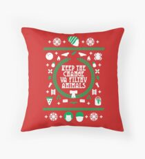Keep the Change Throw Pillow