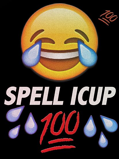 spell icup photographic prints by manist redbubble
