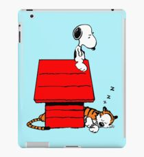 Snoopy and Hobbes iPad Case/Skin