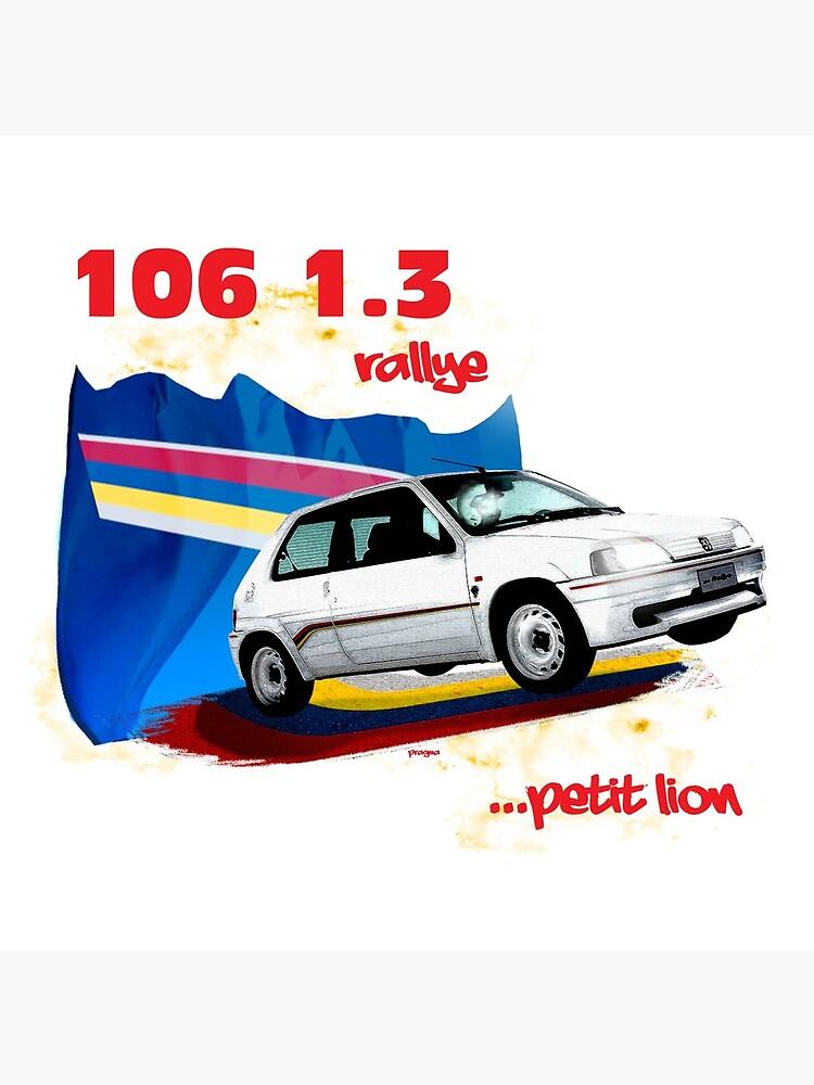 106 1.3 rallye... petit lion by Pragma