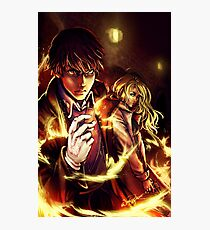 Oh Snap! The Fire Alchemist Photographic Print