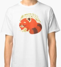Sleeping Red Panda and Bunny Classic T-Shirt