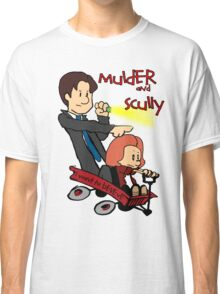 Mulder and Scully Classic T-Shirt