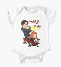 Mulder and Scully One Piece - Short Sleeve