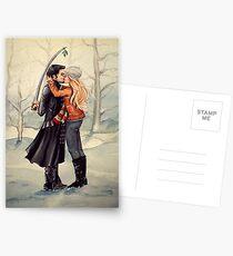 Tradition beobachten (Piratenstil) Postkarten